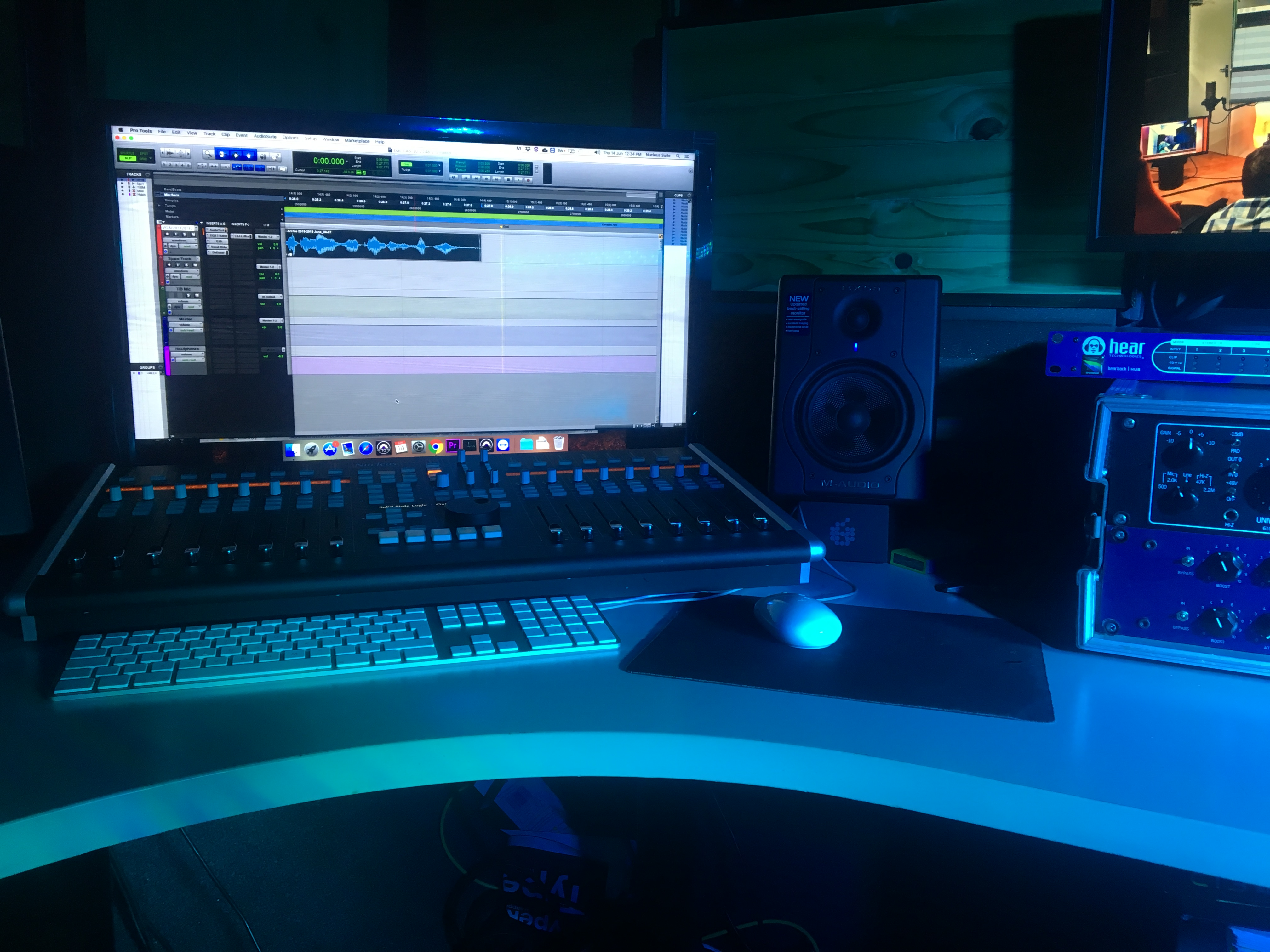 record voice overs