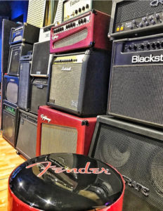 Guitar amplifier collection