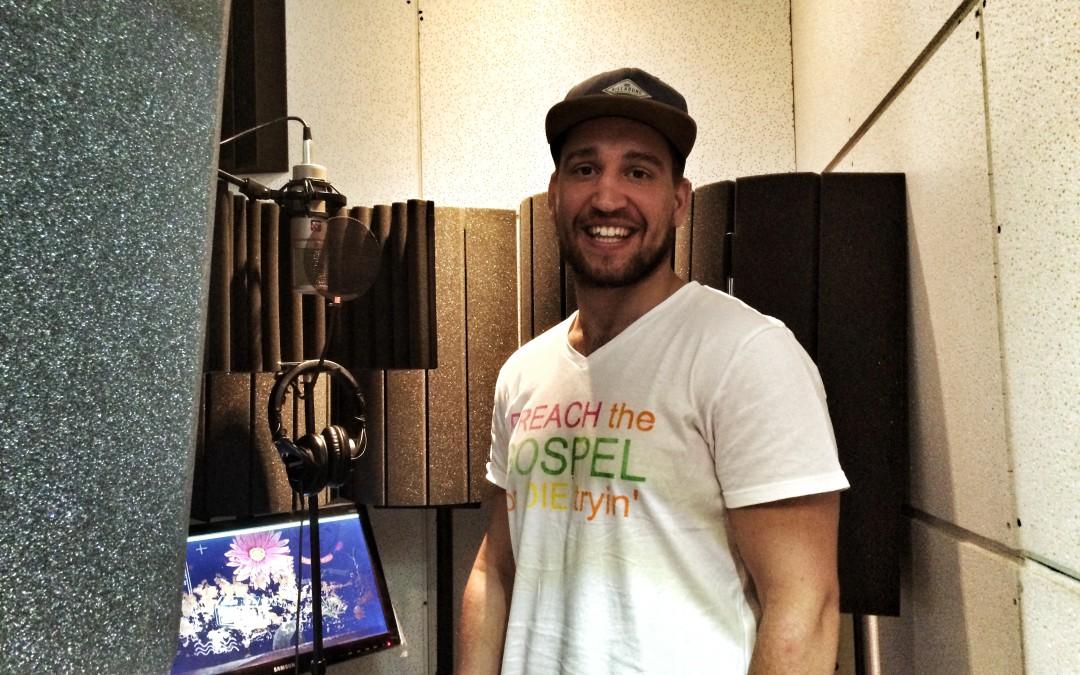 Chris Grobler Spoken Word at Footprint Productions