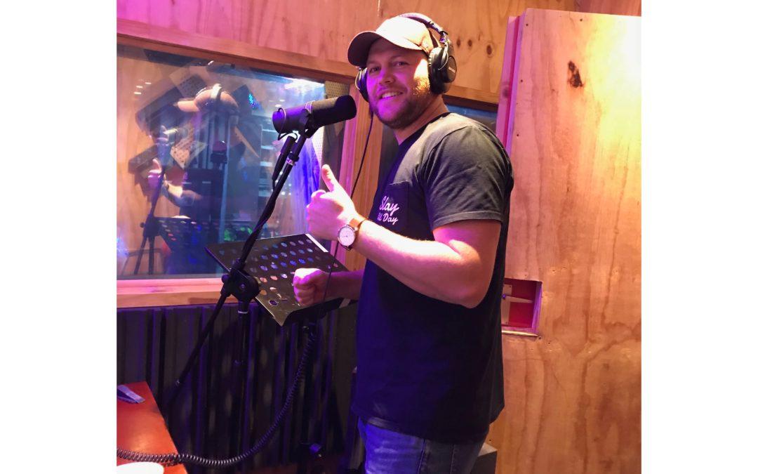 Adrian from Anchor Church in Studio