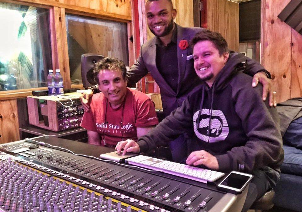 Davic's album mixing at Footprint Productions